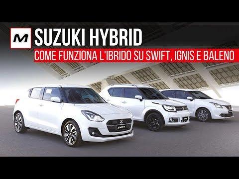 Suzuki Hybrid 2019 | Come funziona l'ibrido su Swift, Ignis e Baleno