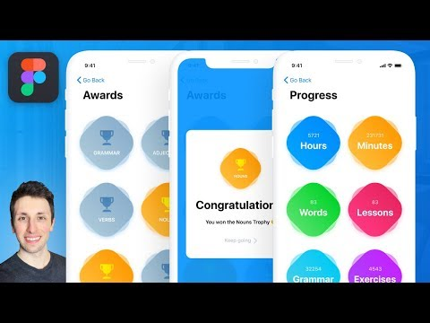 iOS iPhone X Design in Figma: Step by Step Tutorial for Figma [iPhone X] thumbnail