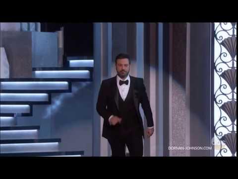 Jamie Dornan, Dakota Johnson & Amelia Warner - Oscars
