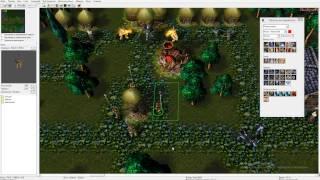 Warcraft 3 Своя RPG создаём (Оживляем лагерь во 2 локации+дикорации)