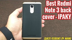 IPAKY Redmi Note 3 Back cover case