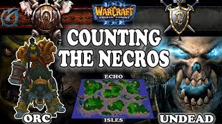 Grubby | Warcraft 3 TFT | 1.30 | ORC v UD on Echo Isles - Counting the Necros
