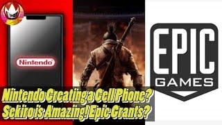 Nintendo Phone, Sekiro Shadows Die Twice Review, Epic Games Granting Millions - NYM Recap