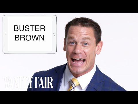 John Cena Teaches You Trucker Slang   Vanity Fair
