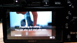 Sony Multiple Exposure & Motion Shot camera apps overview with Sony a6000