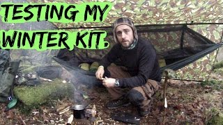 Solo wild hammock camping with the bushbox XL.