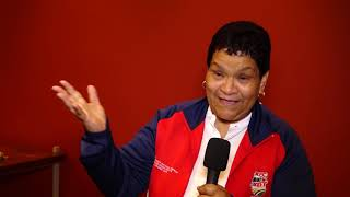 School Coach Belinda Allie talks about Bayview Primary School and the Proteas