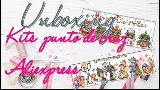 Unboxing kits aliexpress - Flosstube#6