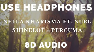 Nella Kharisma Ft. Nuel Shineloe - PERCUMA ( 8D AUDIO USE HEADPHONES )