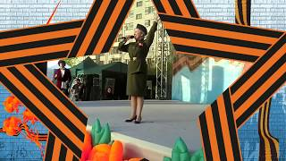 """Песню """"Дорога на Берлин"""" исполняет Лариса Озерова. Композитор М. Фрадкина,  стихи Е. Долматовского,"""