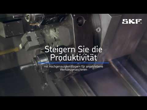 SKF Hochgenauigkeitslager für angetriebene Werkzeugmaschinen