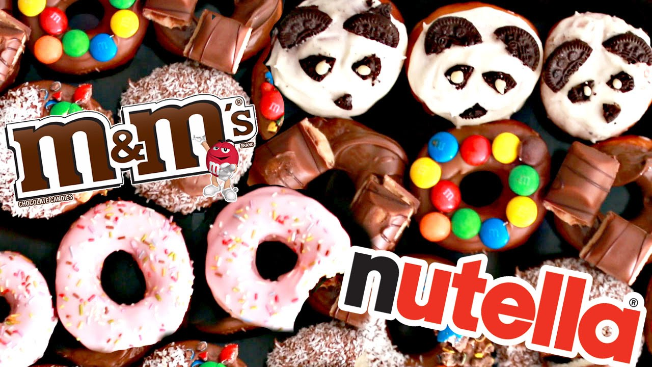 ГОТОВИМ DONUTS ПОНЧИКИ БАУНТИ, M&M'S, KINDER BUENO, NUTELLA | SWEET HOME