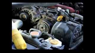 diy repair ac compressor clutch on subaru impreza and forester 08 10