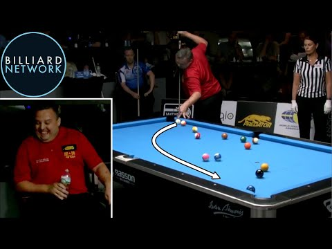 Thumbnail: MOST UNBELIEVABLE RUN OUT EVER?!! 8-BALL POOL IN REAL LIFE! By Chris Melling! บิลเลียด