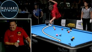 Billiards - MOST UNBELIEVABLE RUN OUT EVER?!! 8-Ball By Chris Melling!