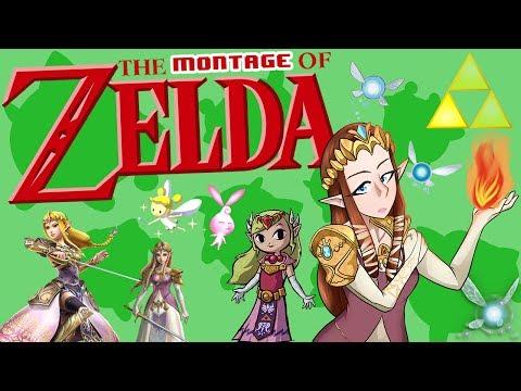Zelda Montage - SSB4 Wii U