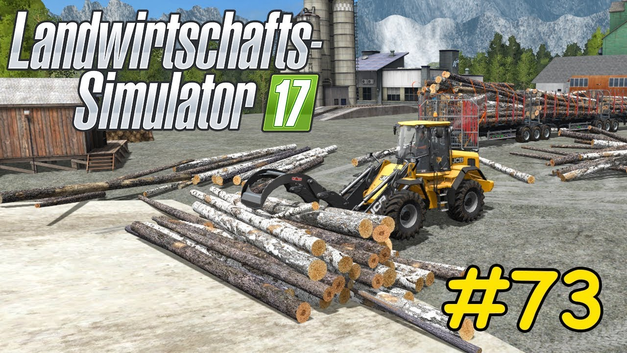 Lets Play Ls17 Forstwirtschaft Teil 73 Mega Holzverkauf