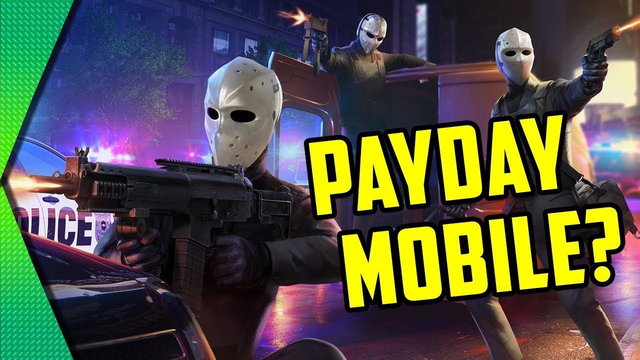 Armed Heist - BEST PAYDAY-LIKE SHOOTER FOR MOBILE | MGQ Ep. 230 -