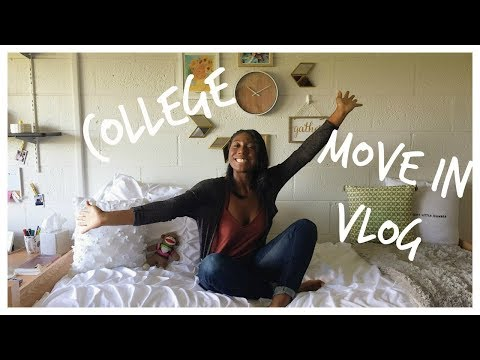 COLLEGE MOVE-IN VLOG | Rutgers University