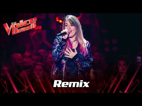 Isa Guerra canta Versace On The Floor no Remix - The Voice Brasil  7ª Temporada