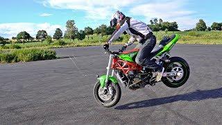 Japan Stunt Rider Dai Yabiku Training