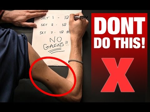 "Thumbnail: ""3 Sets of 12"" is KILLING Your Gains!!"