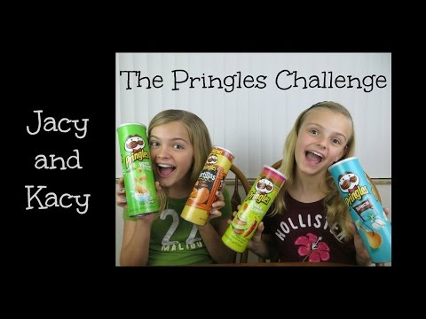 The Pringles Challenge ~ Jacy and Kacy
