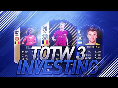 FIFA 18 - TOTW 3 Investing Talk / Best Time to Buy Informs!