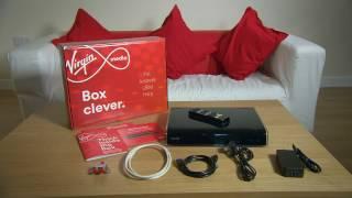 La configuración de su TV Box con un Virgin Media Hub.
