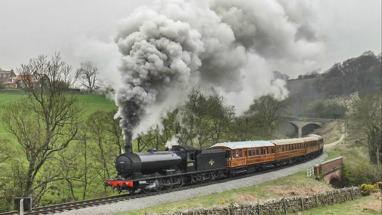 26 Steam Locos Tackle The 1/49 ! The North Yorkshire Moors Railway