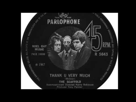 The Scaffold - Thank You Very Much  (1967)