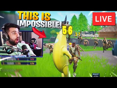 1 Vs 99 WITH PICKAXES ONLY! STREAM SNIPE CHALLENGE  - Fortnite Battle Royale