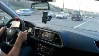 2015 Seat Leon 1.4 Tsi 150 Hp Act Dsg 0-180 Km/h Acceleration