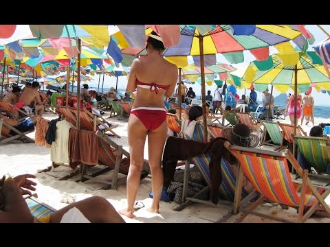 Phi Phi Island, Monkey Beach, Krabi Tour, Phuket Thailand Pt7, Travel Vlog