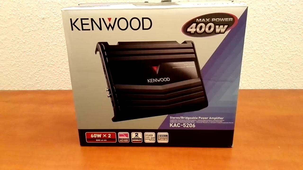 Kenwood Kac 5206 Youtube
