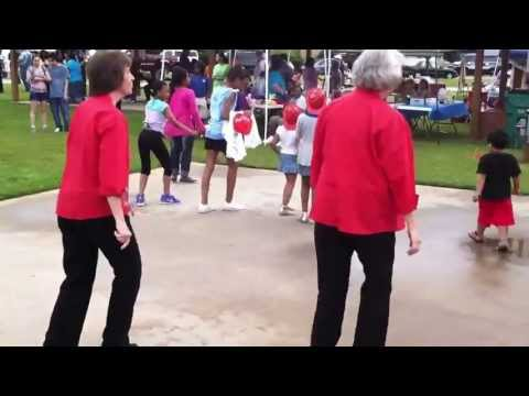 Pink Wobbling Grannies Cashing In On Black Cultural Music and Dance