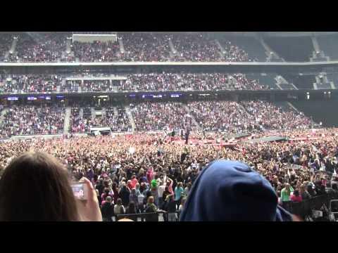One Direction på Friends Arena Fredag 13 Juni 2014