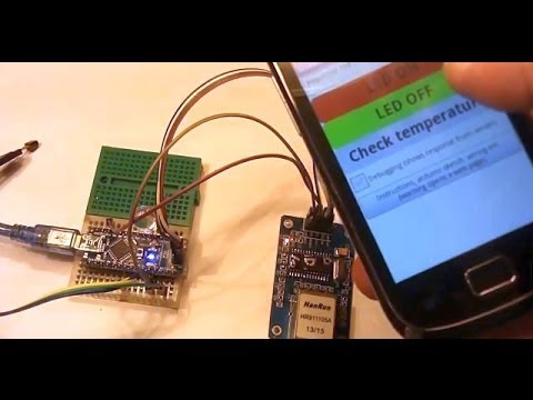 Ethernet Controlled Arduino