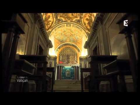 Vatican 1 -  la tombe sous la basilique