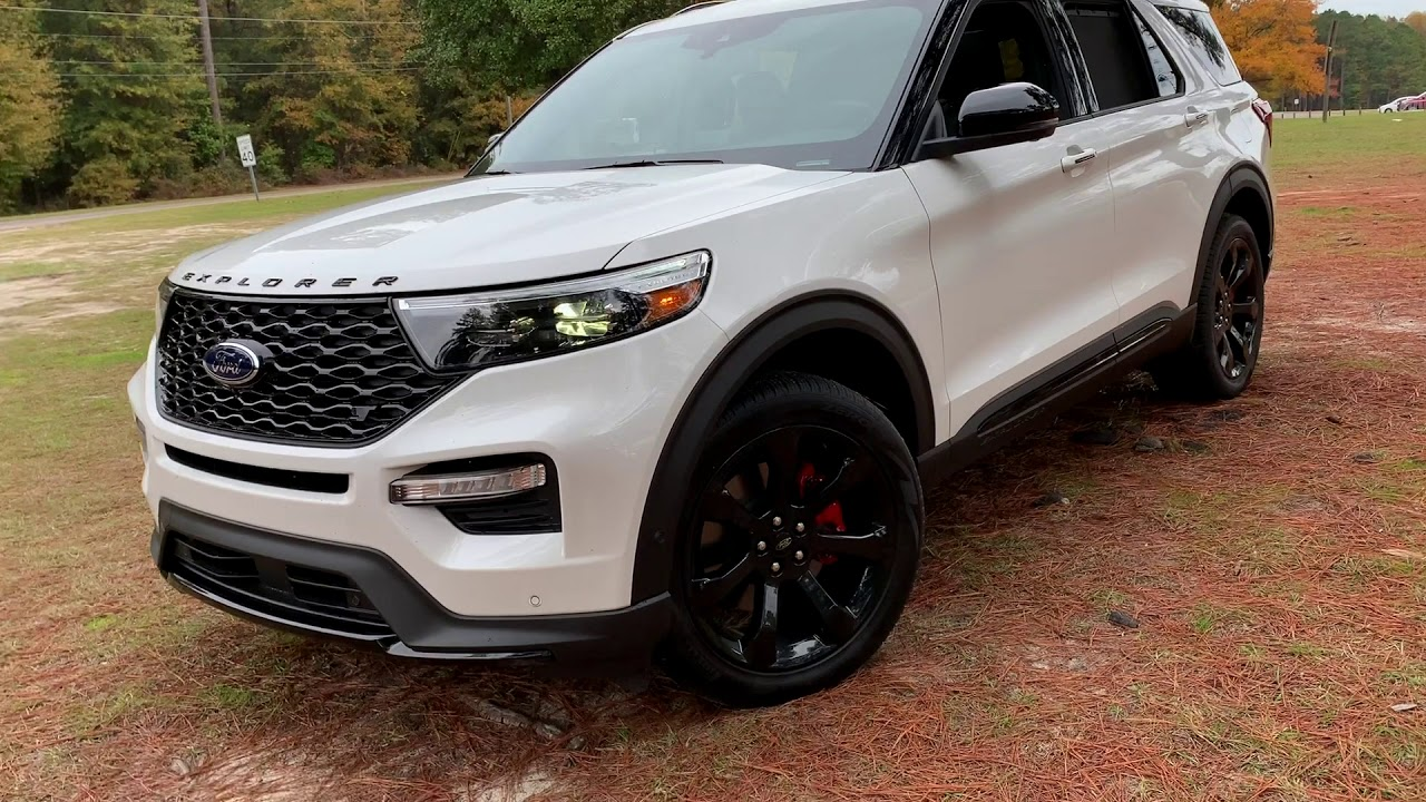 2020 Ford Explorer ST 4WD 3 Row SUV