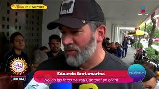 Eduardo Santamarina no quiere …