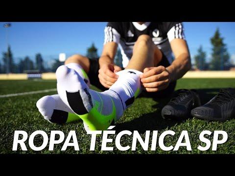 Ropa técnica para el fútbolista SP