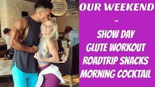 SHOW DAY | Roadtrip Snacks | Glute Workout