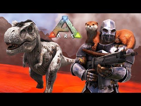 ARK: Survival Evolved - ULTIMATE T-REX ARMY!! (ARK Ragnarok)