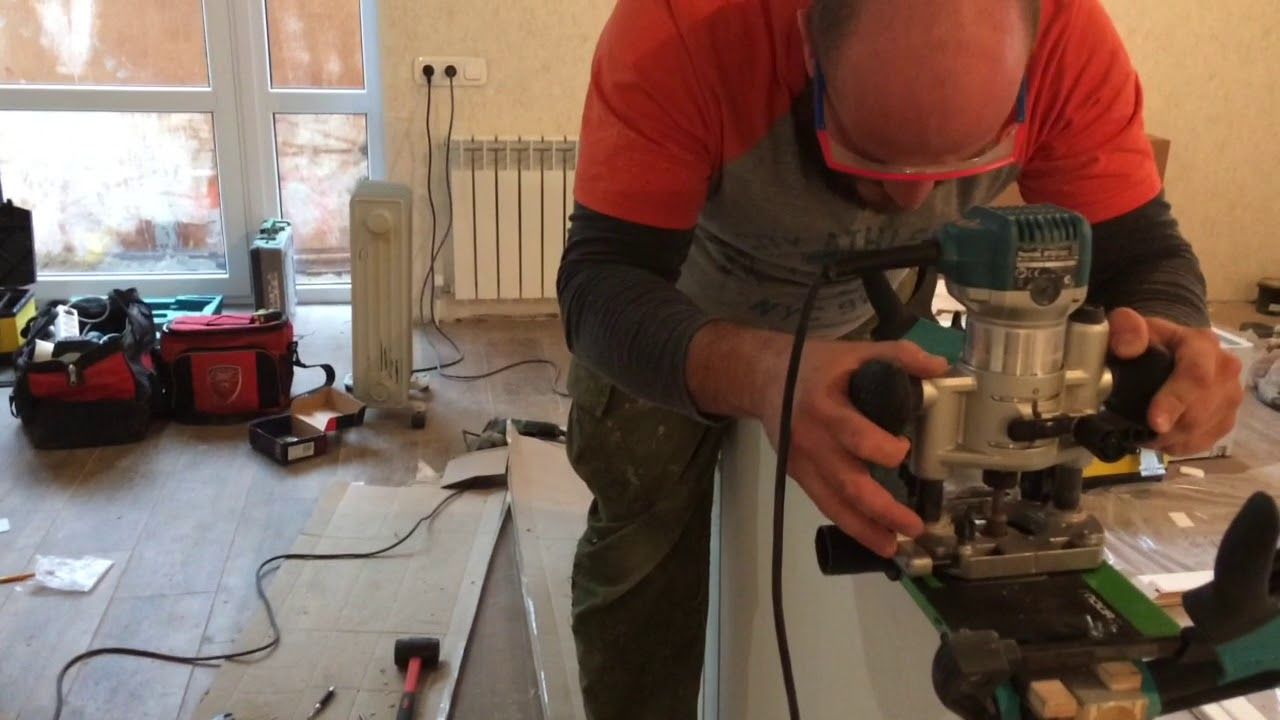 Посылка из России Мебельный шаблон (кондуктор) для петель и .