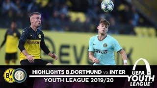 BORUSSIA DORTMUND 2-1 INTER | U19 HIGHLIGHTS | Inter remain top of Group F | UEFA Youth League