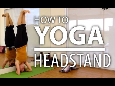 Yoga for Beginners How to do a Headstand (Sirsasana)