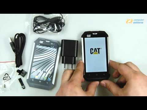 CAT B15 Smartphone ausgepackt bei computeruniverse (HD)
