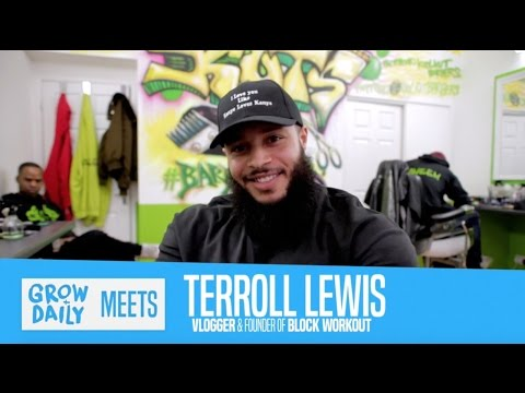 GROW DAILY MEETS: TERROLL LEWIS: Social Media Power, Mindset
