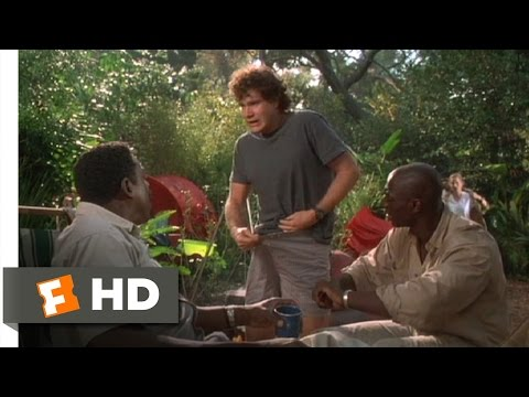 Congo (5/9) Movie CLIP - There's Something on My... (1995) HD